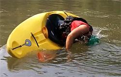 rolling kayak instruction